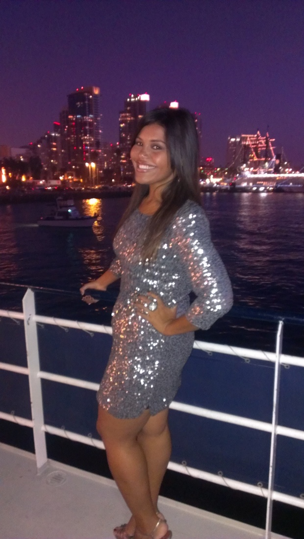 City Skylines and Sequins. Best night EVER!