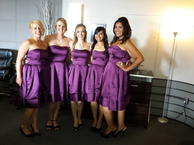 The five HOT Bridesmaids! :)