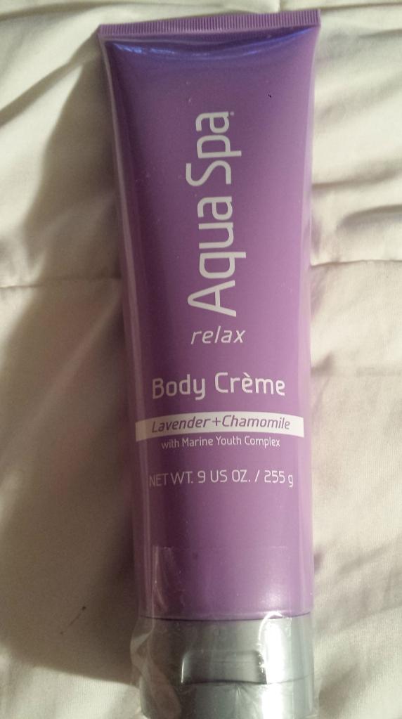 Aqua Spa Relax Body Crème in Lavender and Chamomile