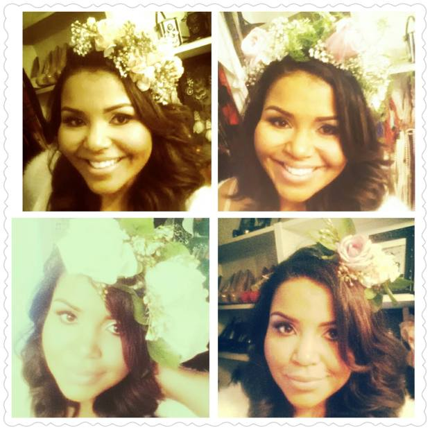 Four floral masterpieces crafted by the amazing Je @CityGirlFinds in San Diego!